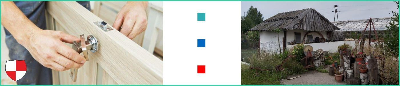 Montaż i wymiana zamków w drzwiach Reda